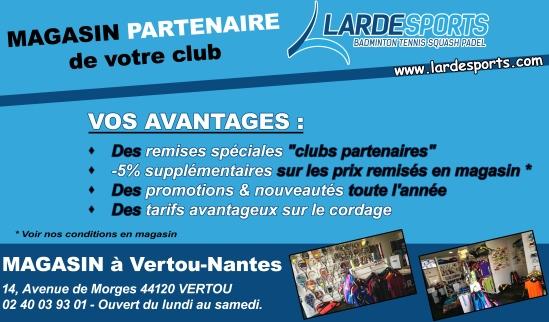 Carte Visite Clubs Partenaires