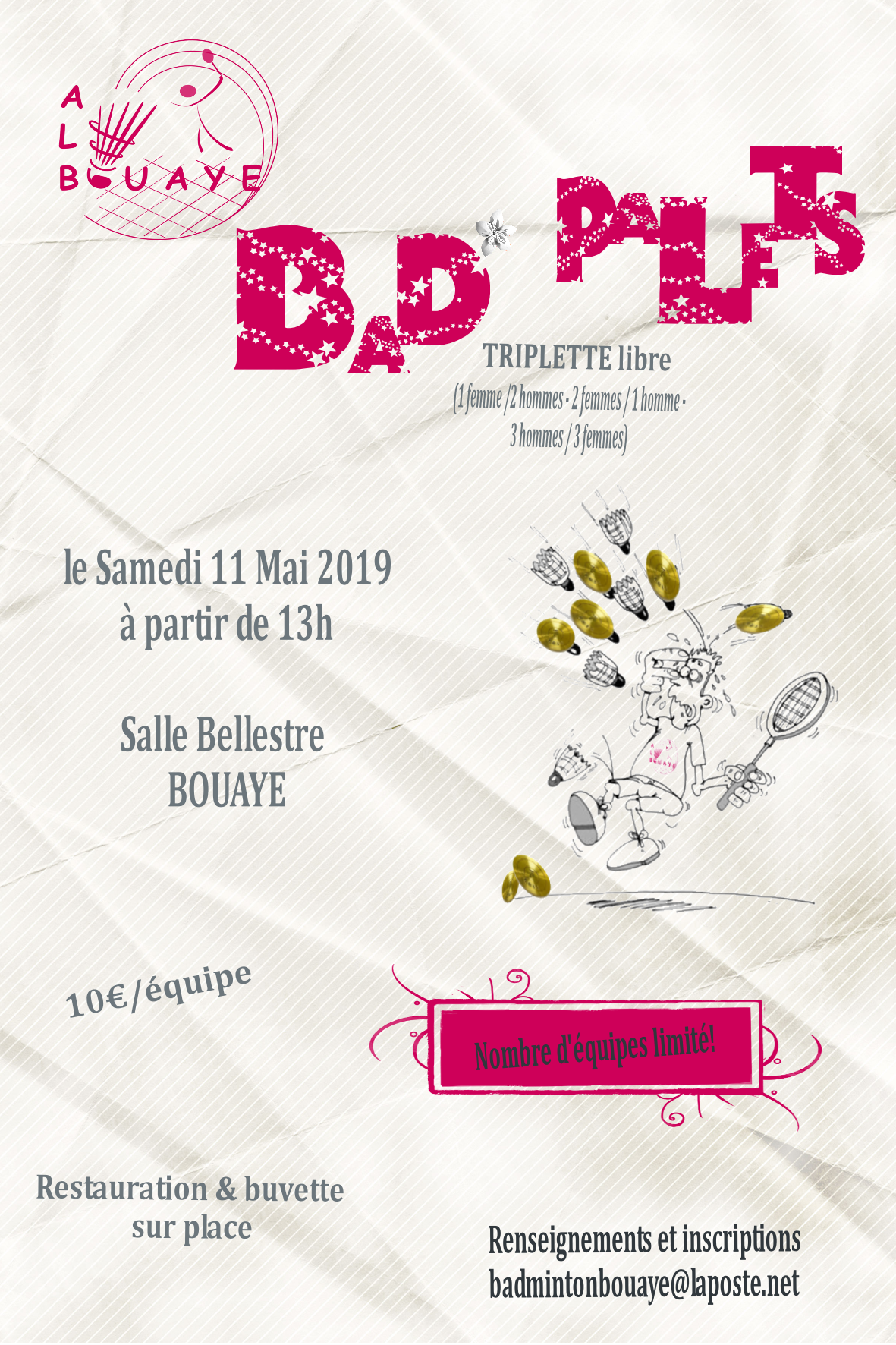 Bad Palets Bouaye 11-05-19